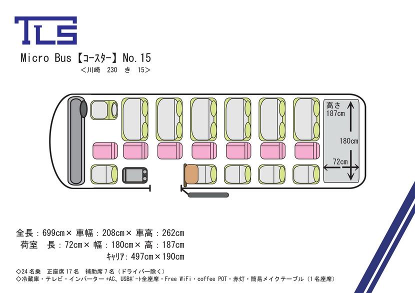 コースターNo.15平面図
